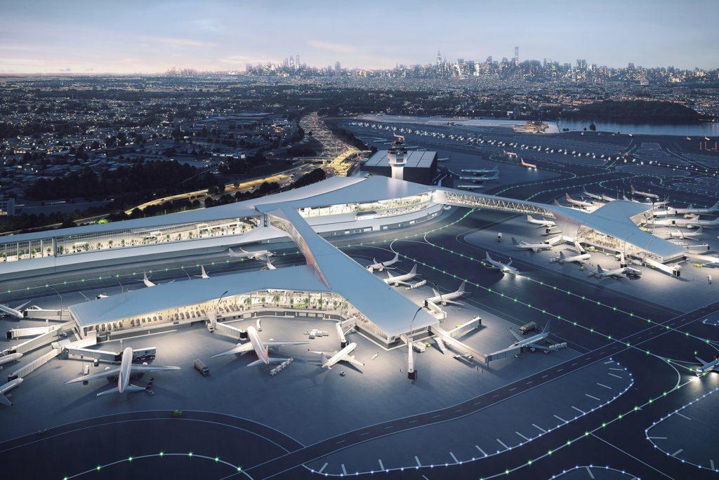 LaGuardia-Airport-New-Terminal-B-Dusk-Rendering-1900